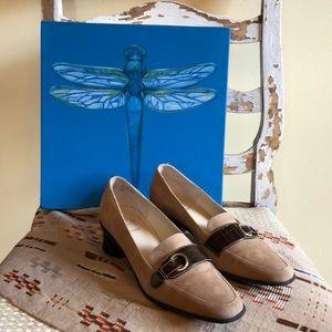 Joan & Circa Comfort Suede Shoes 7M